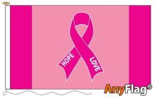 PINK RBBON  ANYFLAG RANGE - VARIOUS SIZES